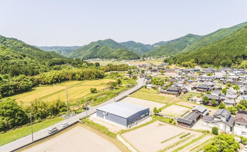 田中製麺様 工場 (たつの市新宮町)