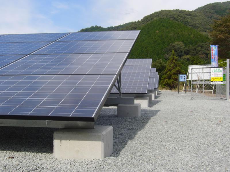 自社 太陽光発電 (宍粟市山崎町)