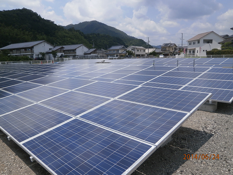 自社 太陽光発電